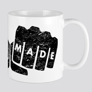 Self Made Knuckle Tattoo (Distressed) Mugs