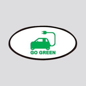 Go Green ~ Drive Electric Cars Patch