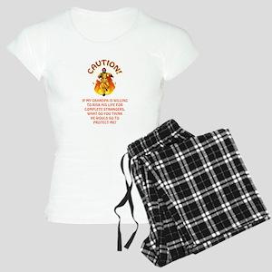 CAUTION/GRANDPA Women's Light Pajamas