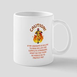 CAUTION/GRANDPA Mug