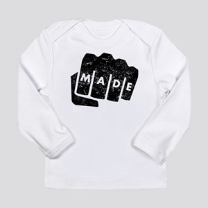 Made Knuckle Tattoo (Distressed) Long Sleeve T-Shi