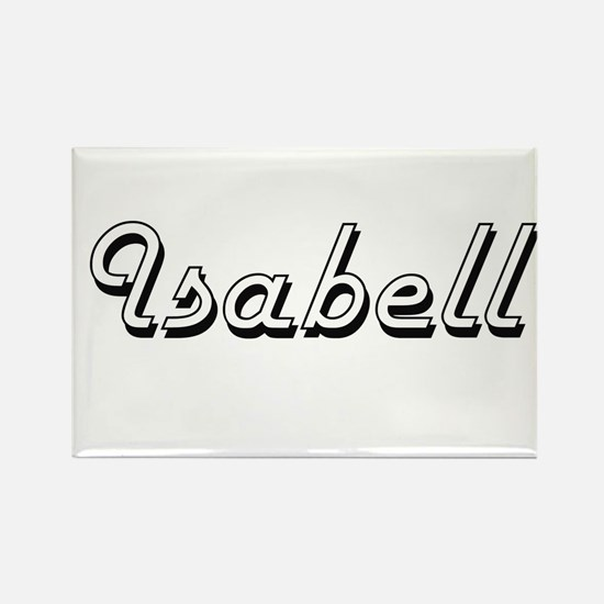 Isabell Classic Retro Name Design Magnets