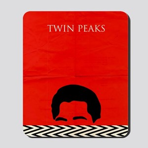 Agent Cooper - Twin Peaks Mousepad