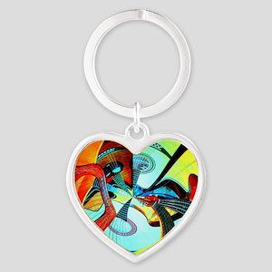 Diafora Enchorda Heart Keychain