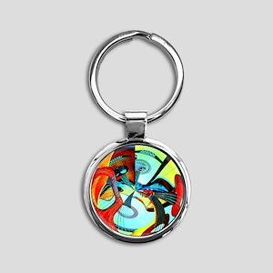Diafora Enchorda Round Keychain