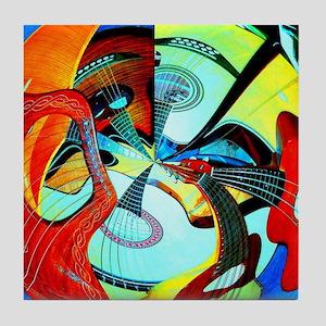 Diafora Enchorda Tile Coaster