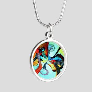 Diafora Enchorda Silver Round Necklace