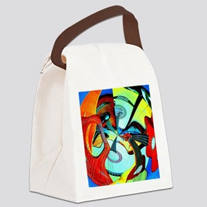 Diafora Enchorda Canvas Lunch Bag