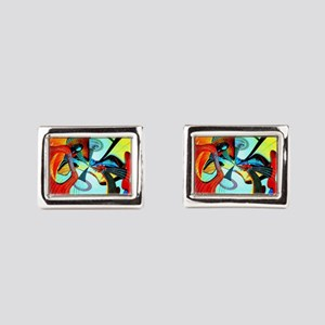 Diafora Enchorda Rectangular Cufflinks