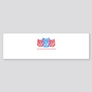 """The Owls..."" - Twin Peaks Sticker (Bumper)"