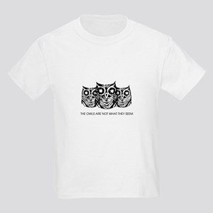 """The Owls..."" - Twin Peaks Kids Light T-Shirt"
