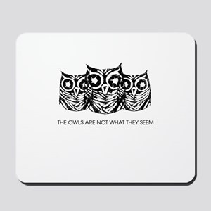 """The Owls..."" - Twin Peaks Mousepad"