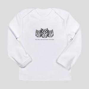 """The Owls..."" - Twin Pe Long Sleeve Infant T-Shirt"