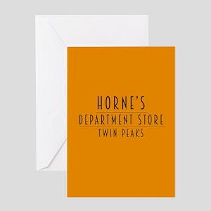 Horne's Dept. Store - Twin Peaks Greeting Card