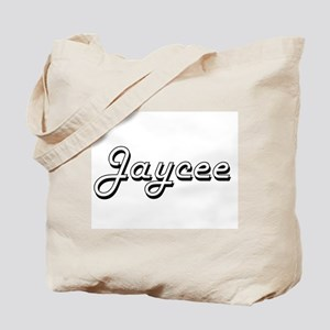 Jaycee Classic Retro Name Design Tote Bag
