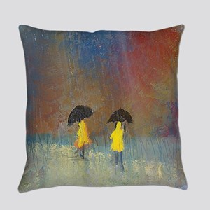 Fixing the Umbrella Everyday Pillow