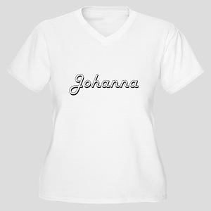 Johanna Classic Retro Name Desig Plus Size T-Shirt