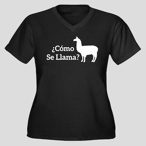 Como Se Llama? Plus Size T-Shirt