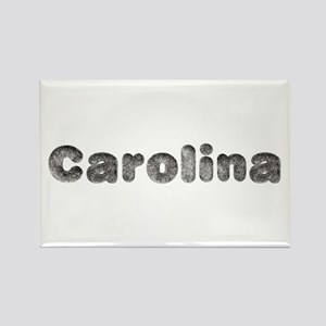Carolina Wolf Rectangle Magnet