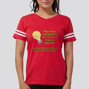 Psychiatrist lightbulb joke T-Shirt