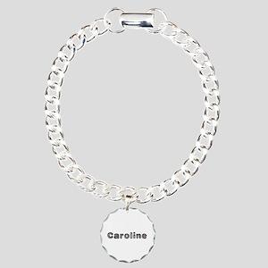 Caroline Wolf Charm Bracelet