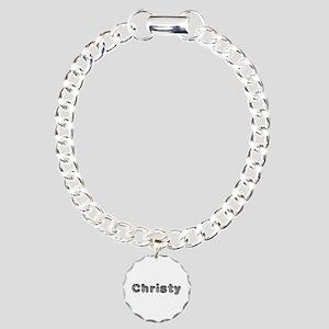Christy Wolf Charm Bracelet