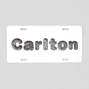 Carlton Wolf Aluminum License Plate