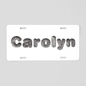 Carolyn Wolf Aluminum License Plate