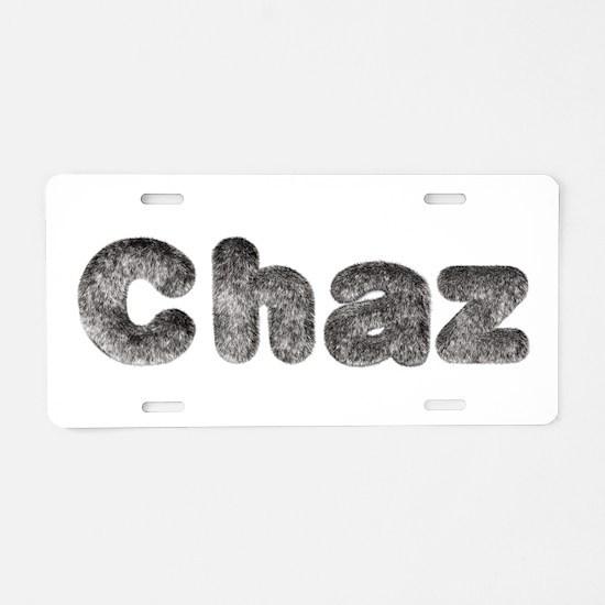 Chaz Wolf Aluminum License Plate