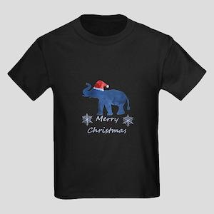 Santa Elephant T-Shirt