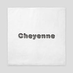 Cheyenne Wolf Queen Duvet