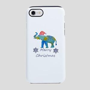 Santa Elephant iPhone 7 Tough Case