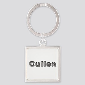 Cullen Wolf Square Keychain