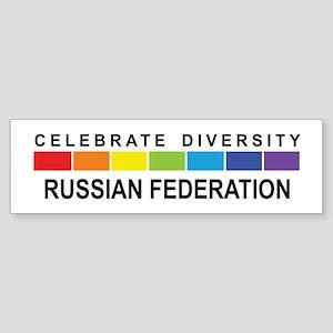 RUSSIAN FEDERATION - Celebrat Bumper Sticker