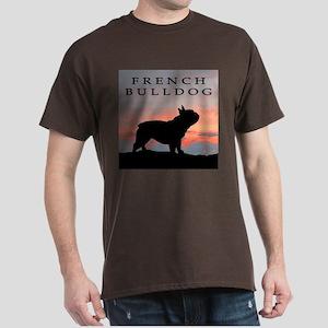 French Bulldog Sunset Dark T-Shirt