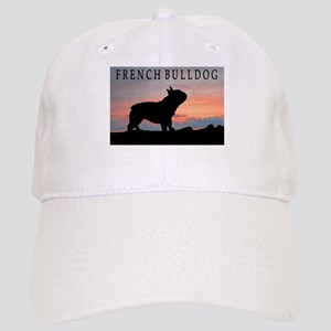 French Bulldog Sunset Cap