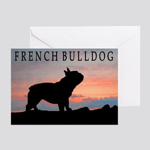 French Bulldog Sunset Greeting Cards (Pk of 10)