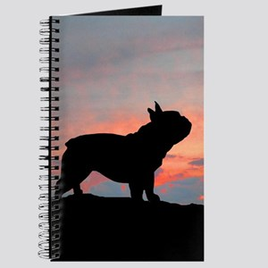 French Bulldog Sunset Journal