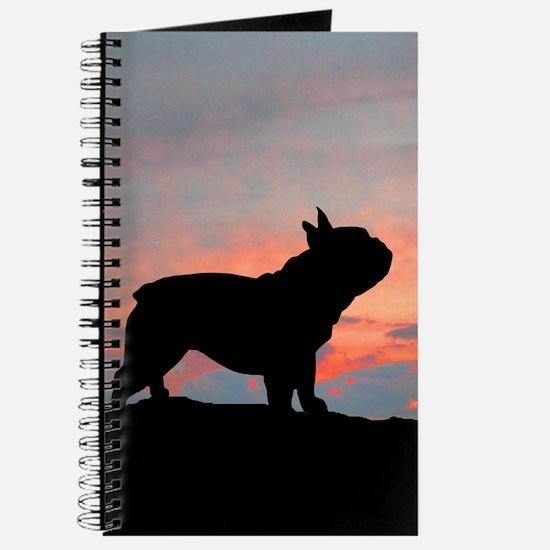 French Bulldog Sunset Journal