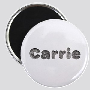 Carrie Wolf Round Magnet