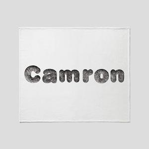 Camron Wolf Throw Blanket