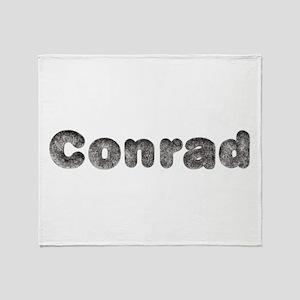 Conrad Wolf Throw Blanket
