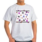Hearts and Flowers Light T-Shirt