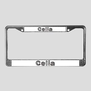Celia Wolf License Plate Frame