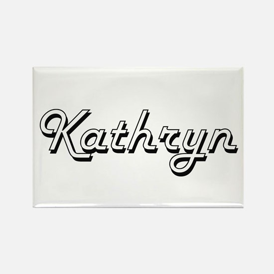 Kathryn Classic Retro Name Design Magnets
