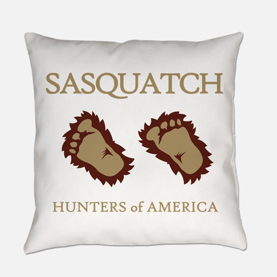 Sasquatch Hunters of America Everyday Pillow