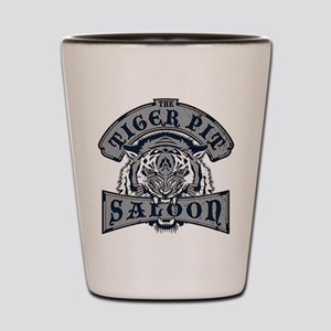 tigerpitsaloon Shot Glass