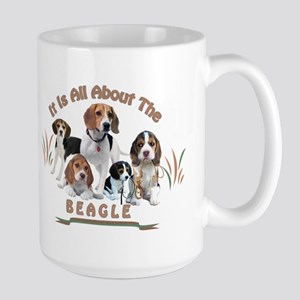 All About The Beagle Mugs