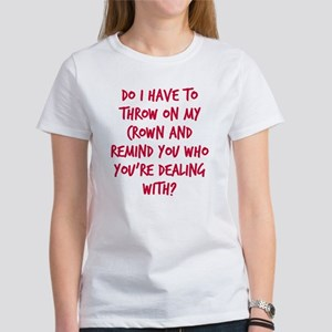 Princess crown Women's T-Shirt