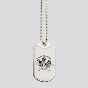 All About The Beagle Dog Tags
